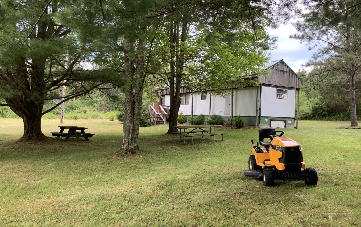 1 acre Mobile Home across from Papish Pond