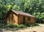 33 Acres Riverfront and Cozy Log Cabin Parishville NY